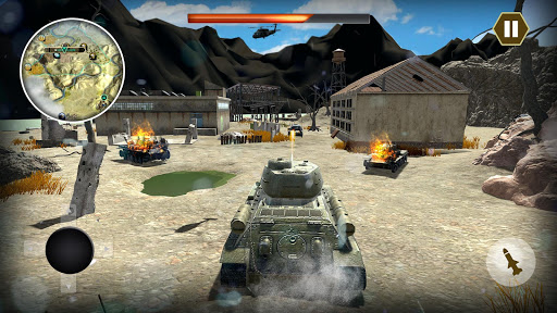 Epic Tank World War Fury - Real Army Panzer Battle  captures d'écran 1
