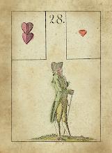 Photo: Az összes későbbi Lenormand kártya őse. A kártya eredetije a British múzeumban található * A reprint kiadás Gino Marchetti grafikus segítségével készült * forrás: www.thegamecrafter.com * www.lenormand. hu