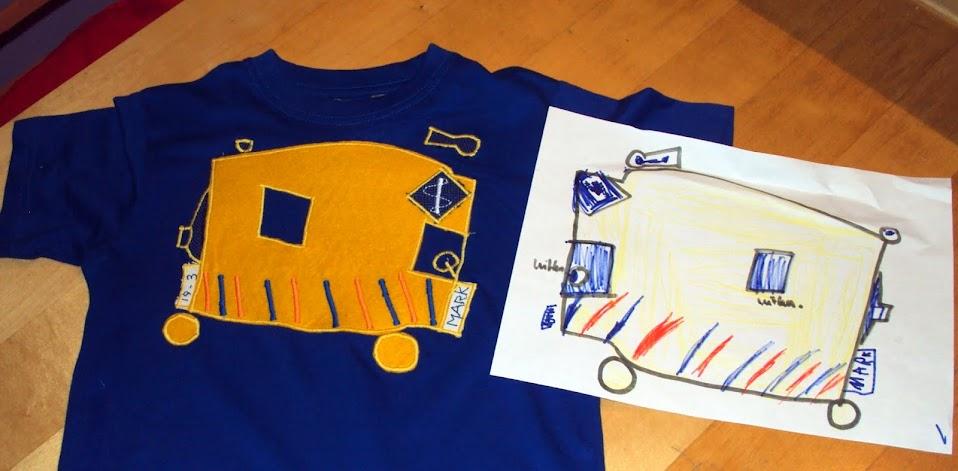 Shirt en ontwerp met ambulance
