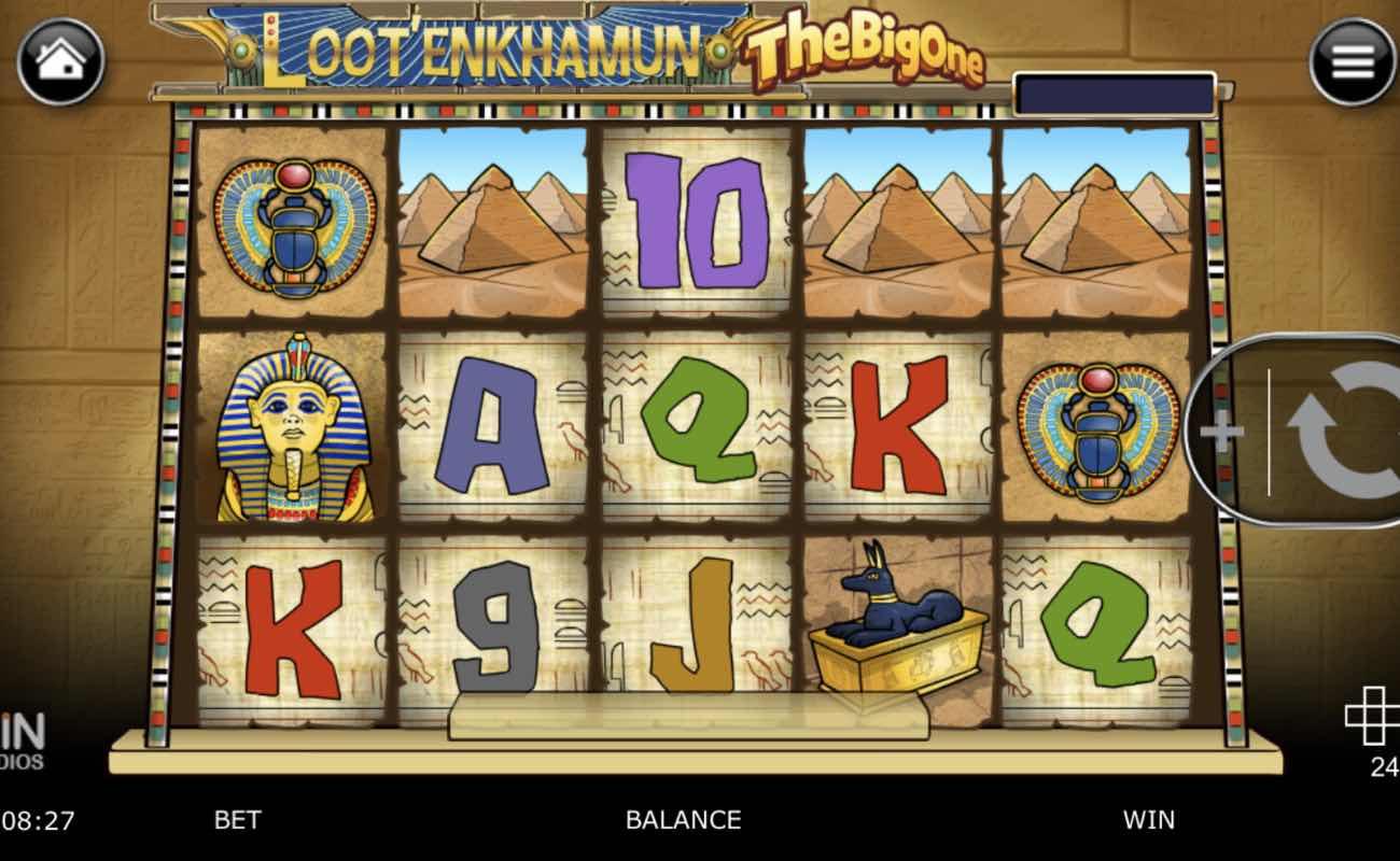 Online slot casino game Loot'Enkhuman