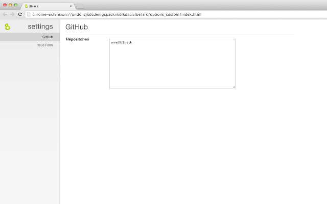 8track: Github Issue Template Manager