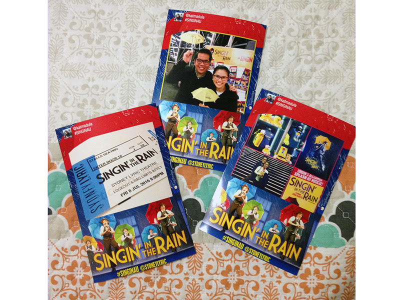 Singin in the Rain Photo Print Outs