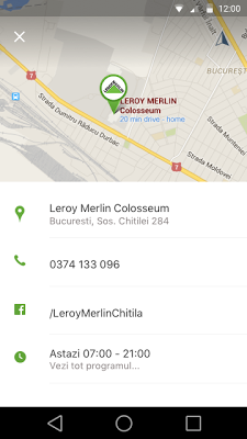 Leroy Merlin RO - screenshot