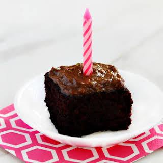 Gluten-free Vegan Avocado Oil Chocolate Cake.