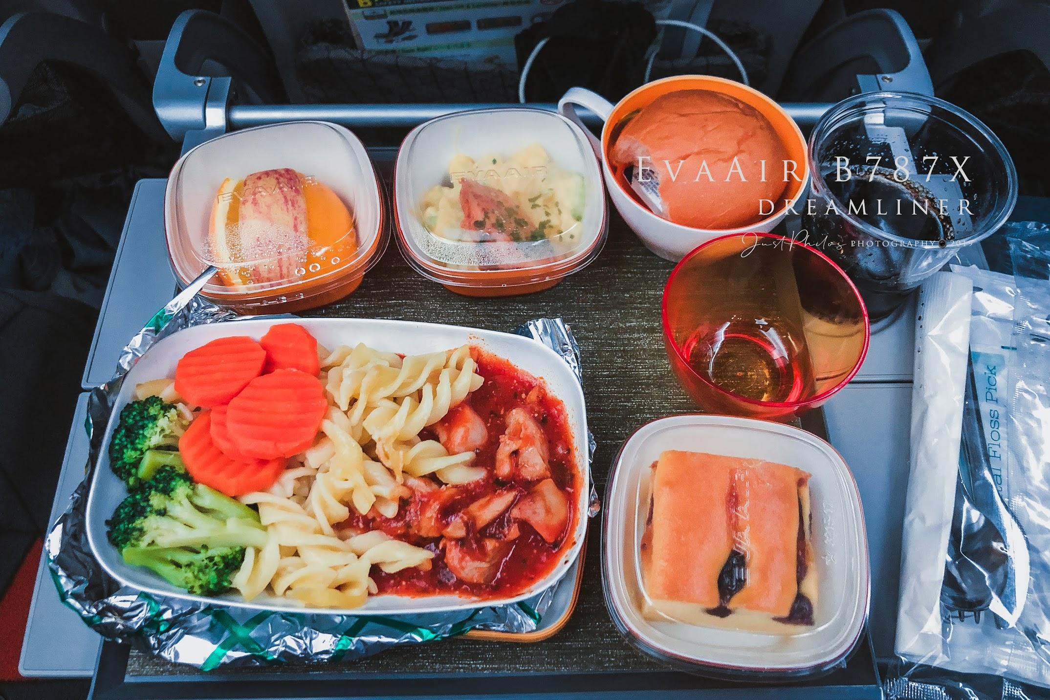 回程部分則是點了海鮮管麵(因為另外一種是牛肉不能選擇),水準依舊不錯,只可惜已經吃過晚餐所以沒有將全部的餐點都吃完。