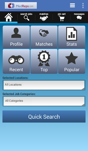 MedReps Job Search App