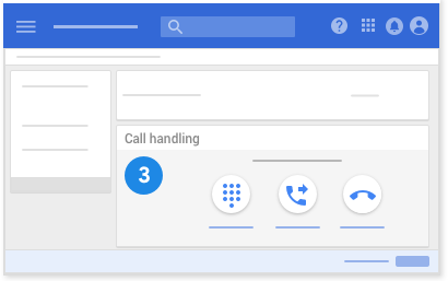 Call handling options