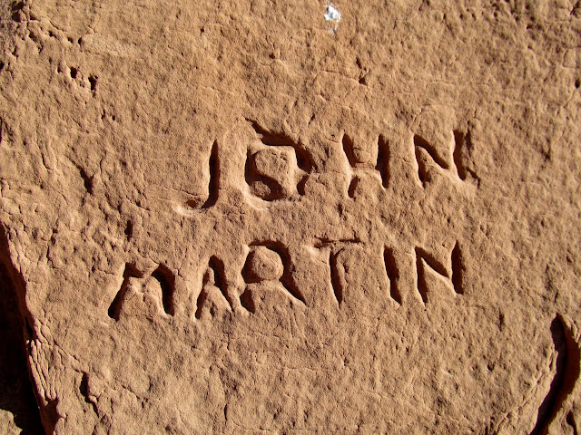 John Martin inscription