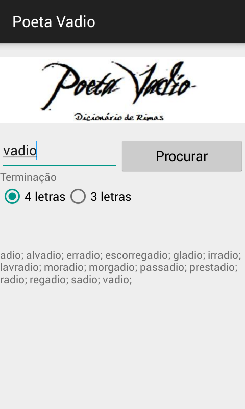 Poeta Vadio- screenshot