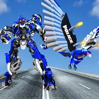 Bay robot Eagle trò chơi Eagle Robot chuyển đổi