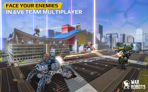 War Robots game (apk) free download for Android/PC/Windows screenshot
