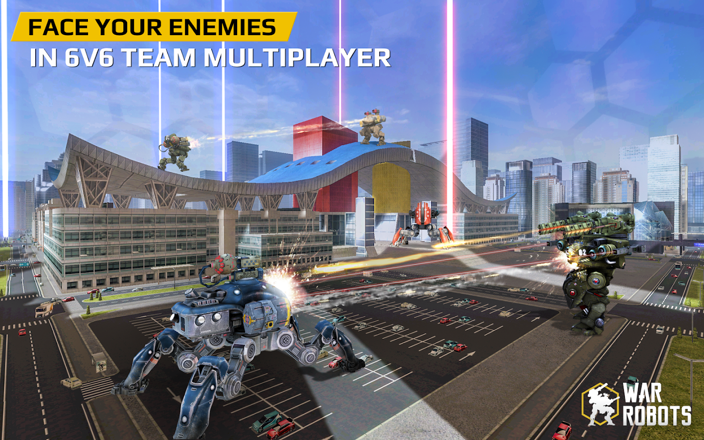 Screenshots of War Robots for iPhone