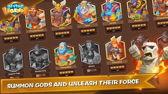 Divine Legends MOD Unlimited Gold 4