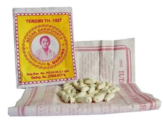 Bedak Saripohatji Masker bedak dingin Saripohatji original herbal jerawat saipohaji saripohaci asli atasi penuaan dini