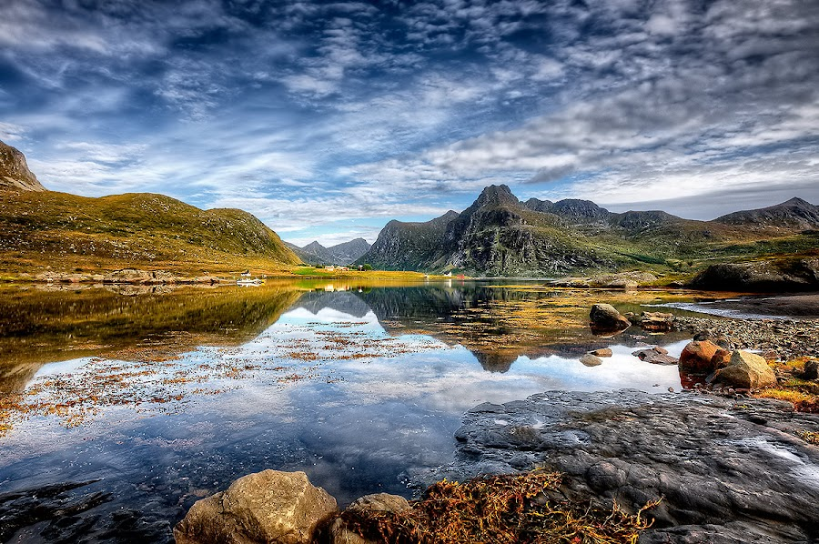 Lofoten!! by John Aavitsland - Landscapes Waterscapes