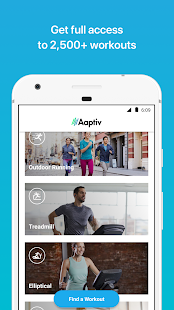 Aaptiv: #1 Audio Fitness App - náhled
