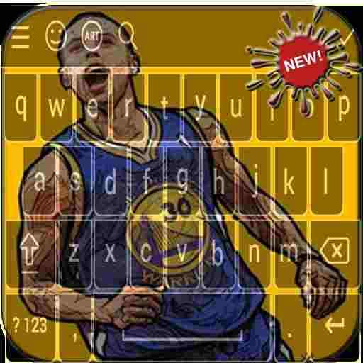 Keyboard for Stephen Curry 2018 HD (app)