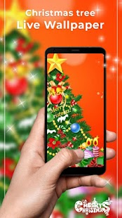 Christmas tree Free live wallpaper - náhled