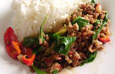 Ga Prow Over Rice