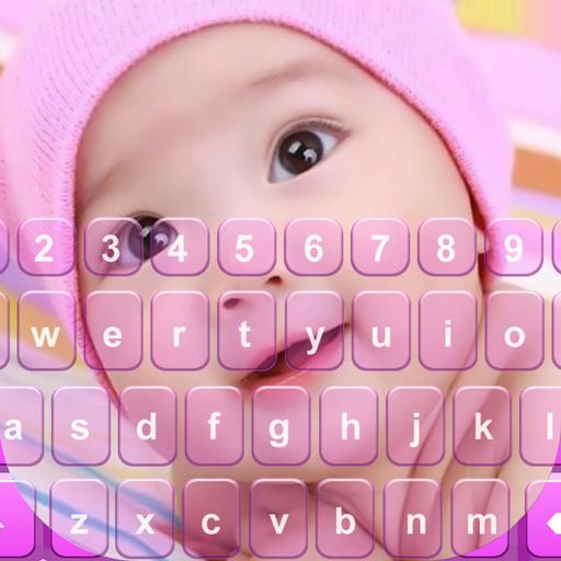 Sweet Baby Photo Keyboard App