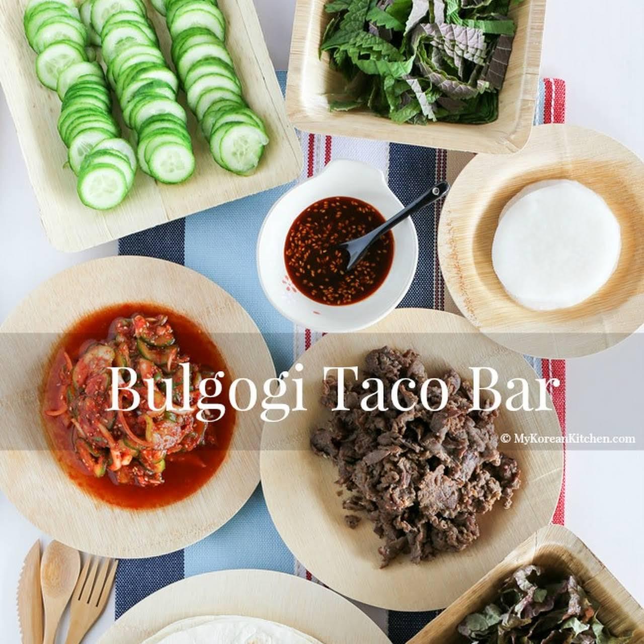 Bulgogi Taco Bar