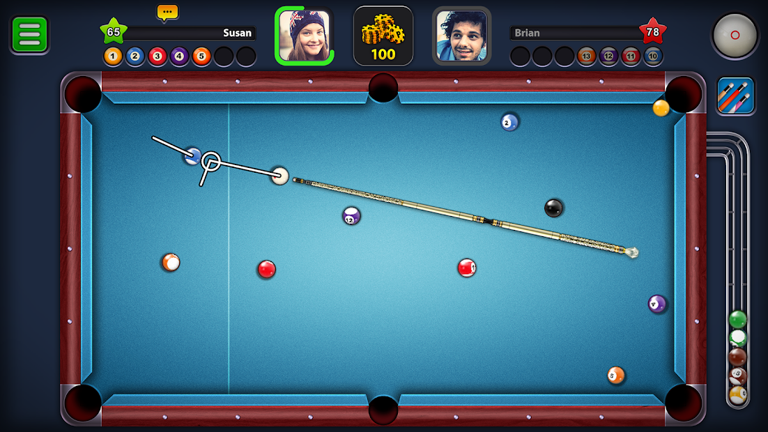 8 Ball Pool Android App Screenshot