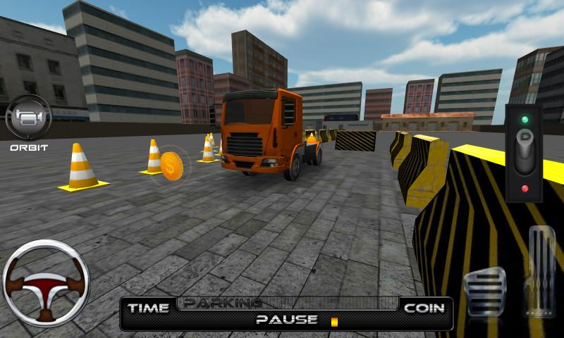 Super Big Rig Parking School- screenshot