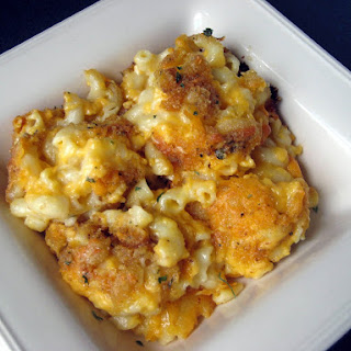 Golden Macaroni and Cheese.