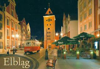 Photo: Elblag, tag miejscowości, dzina