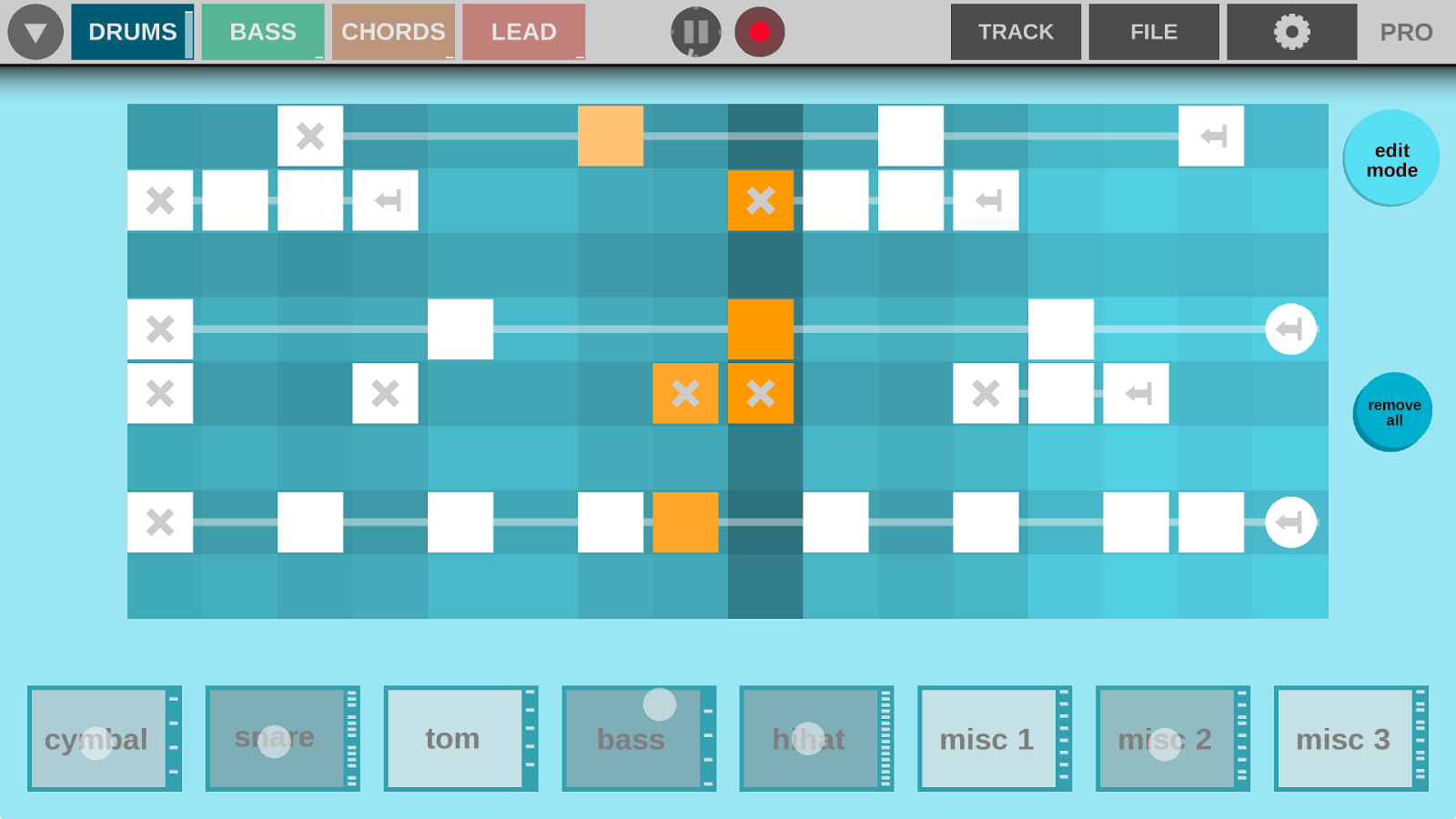 Beatonal- screenshot