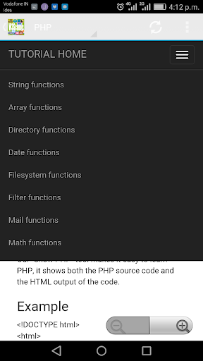 W3Schools Offline FullTutorial 3.8 screenshots 20