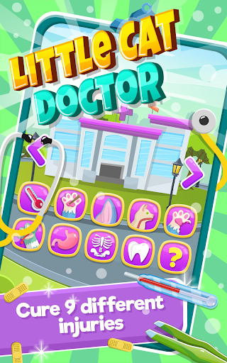 Little Cat Doctor:Pet Vet Game  screenshots 2