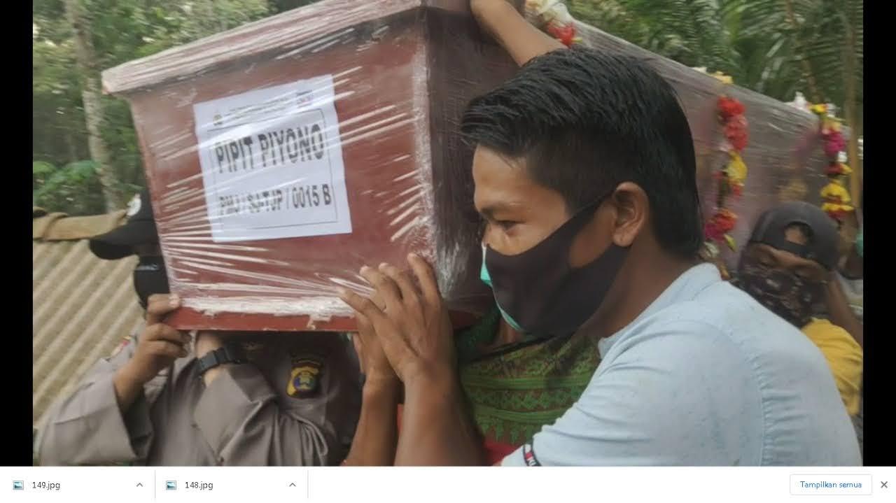 Satu Jenazah Korban Pesawat Sriwijaya Air Asal Tulang Bawang Barat Dimakamkan