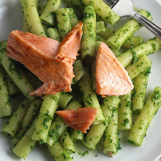 Salmon Pesto Pasta Recipes.