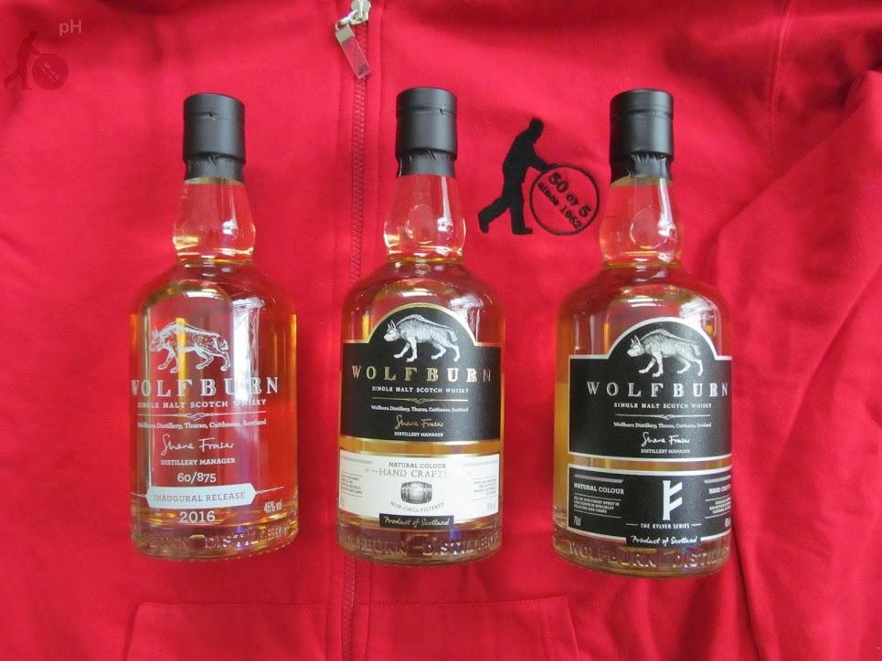 Wolfburn - bottles