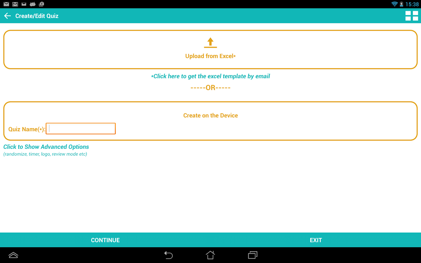 quiz library create share android apps on google play quiz library create share screenshot
