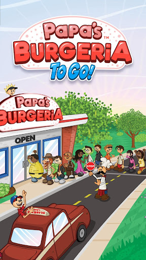 Papa's Burgeria To Go!  screenshots 1