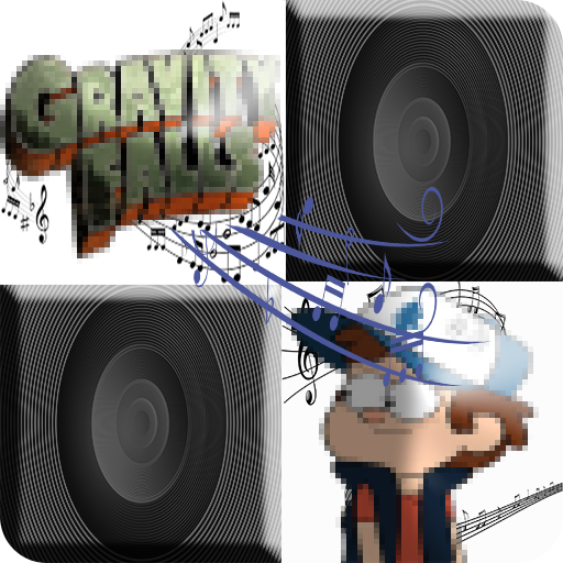 Gravity Piano Falls Tiles - NEW