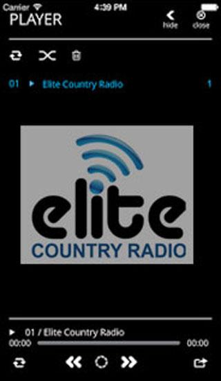 Elite Country Radio- screenshot