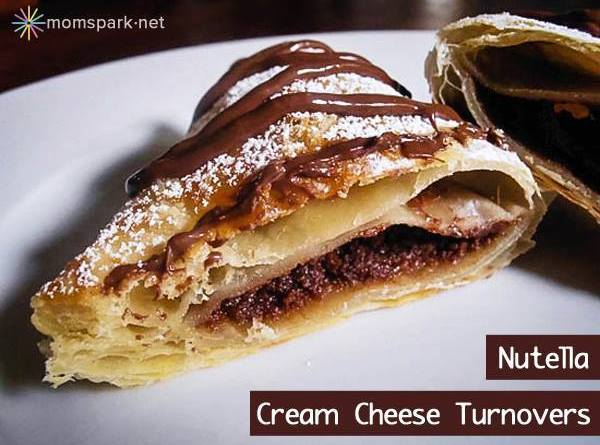 Nutella Cream Cheese Turnovers Recipe