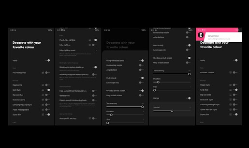 EDGE MASK – Change to unique notification design App Download For Android 7