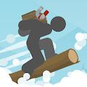 Stickman Snowboard icon