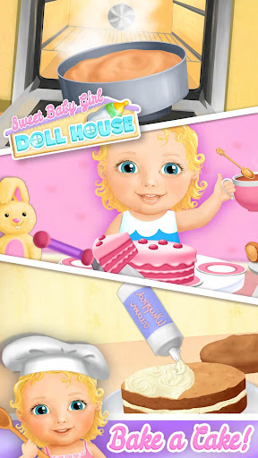 Sweet Baby Girl Doll House - Play, Care & Bed Time 1.0.76 screenshots 7
