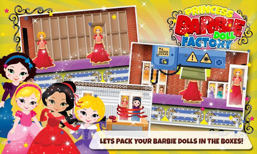 女孩芭比娃娃廠