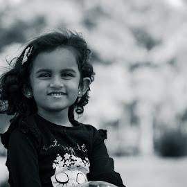 by Sarath Sankar - Black & White Portraits & People