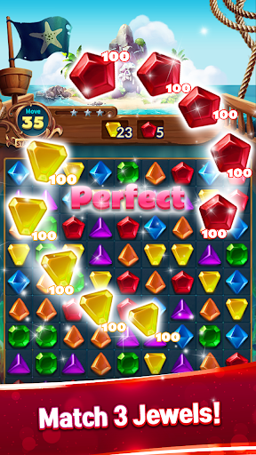 Jewels Fantasy : Quest Temple Match 3 Puzzle 1.6.7 screenshots 3
