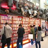 manga fanatics browsing for their favorite manga books in Tokyo, Tokyo, Japan