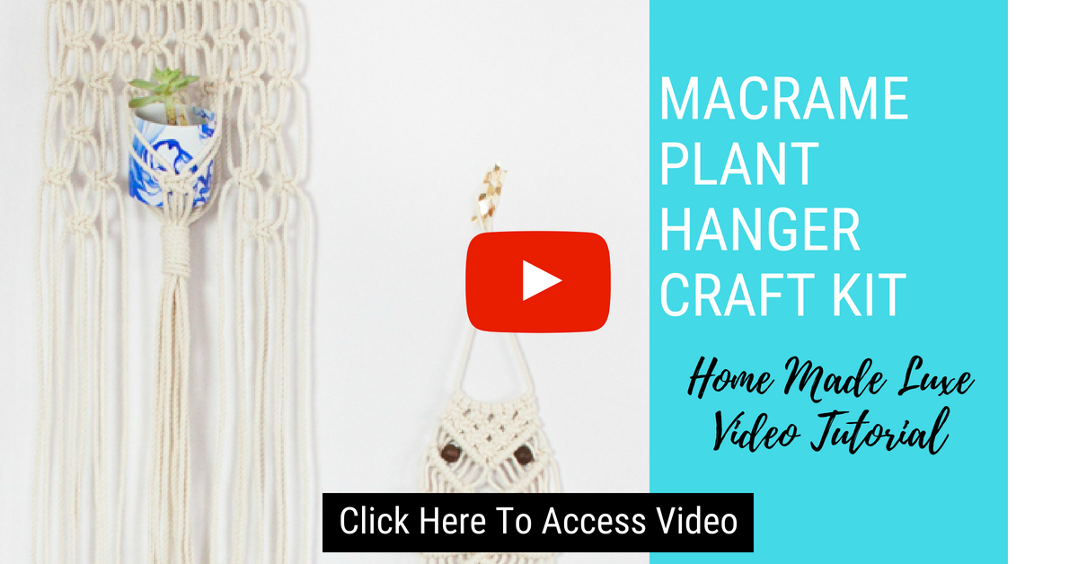 Click here to access macrame plant holder