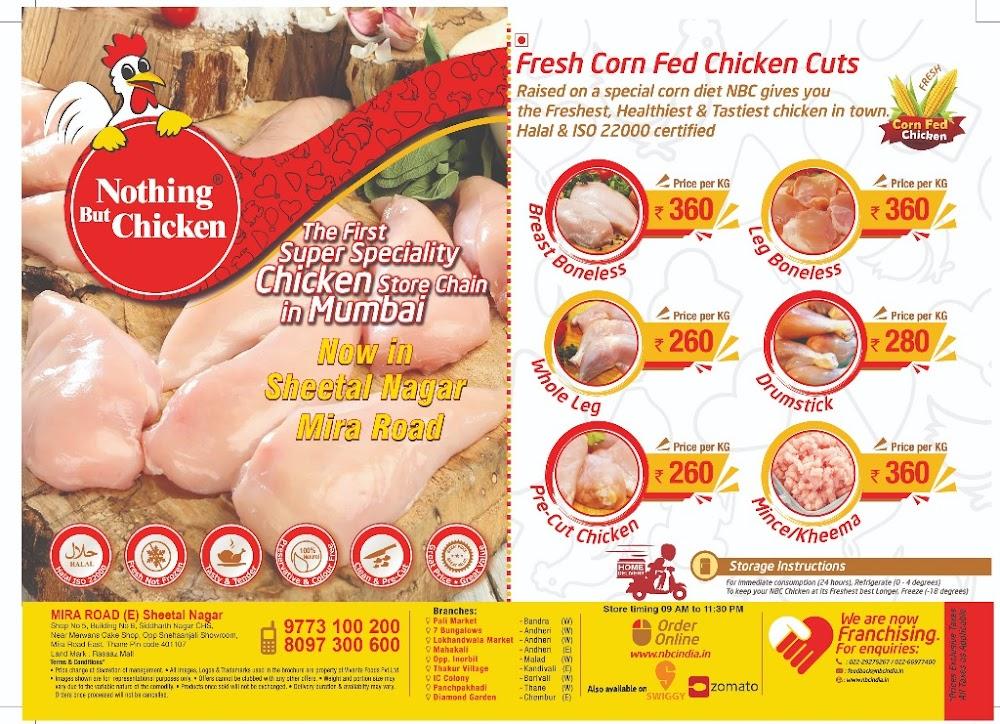 Nothing But Chicken menu 1