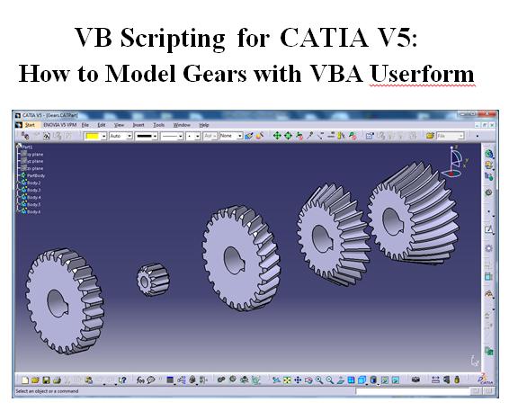 Tutorial:making a bevel gear in catia v5 | 3d cad model library.